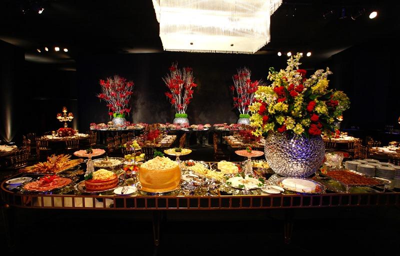 Buffet para festa de aniversário | Foto: GL Fotografia