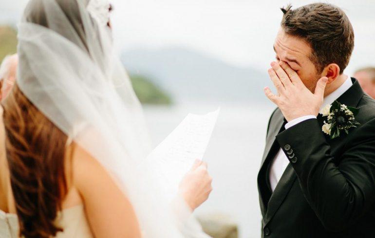 Votos de casamento emocionantes