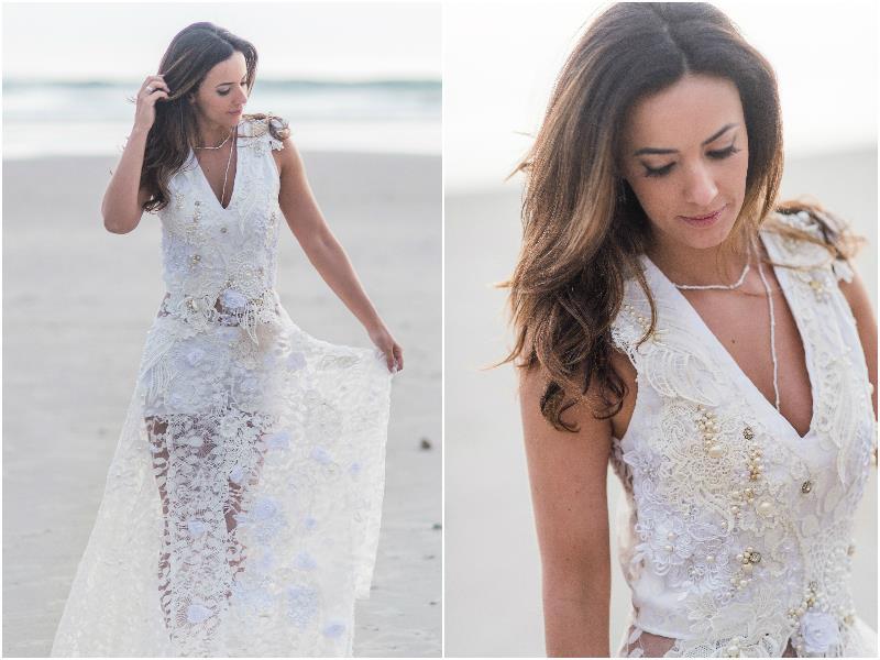 Vestido de casamento da Paloma Tocci