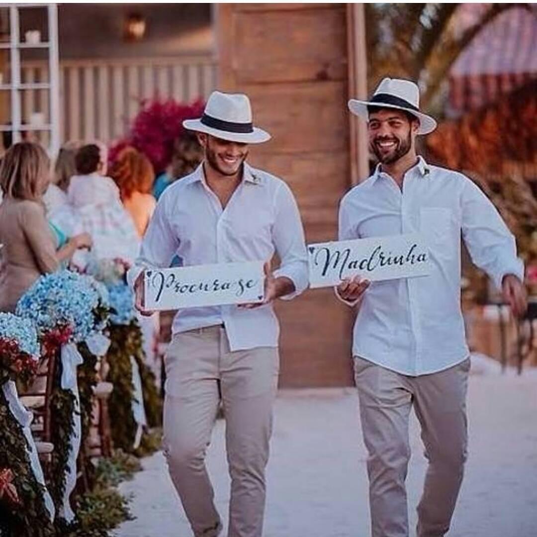 Como escolher padrinhos de casamento
