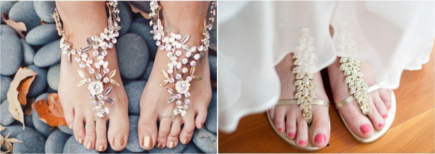 Sapato da Noiva para Casamentos Praianos