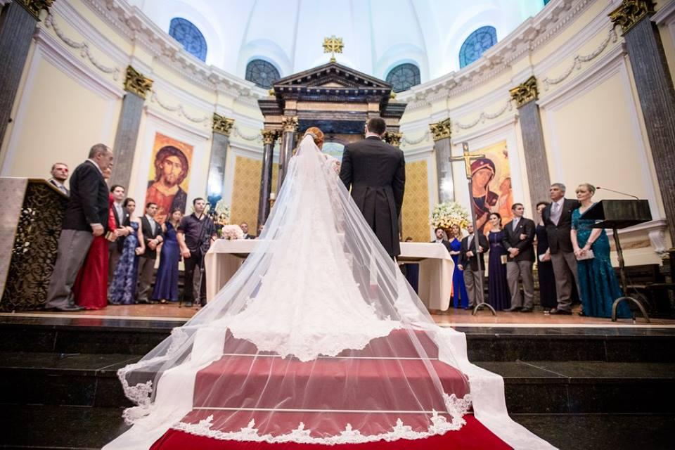 Véu da noiva Catedral