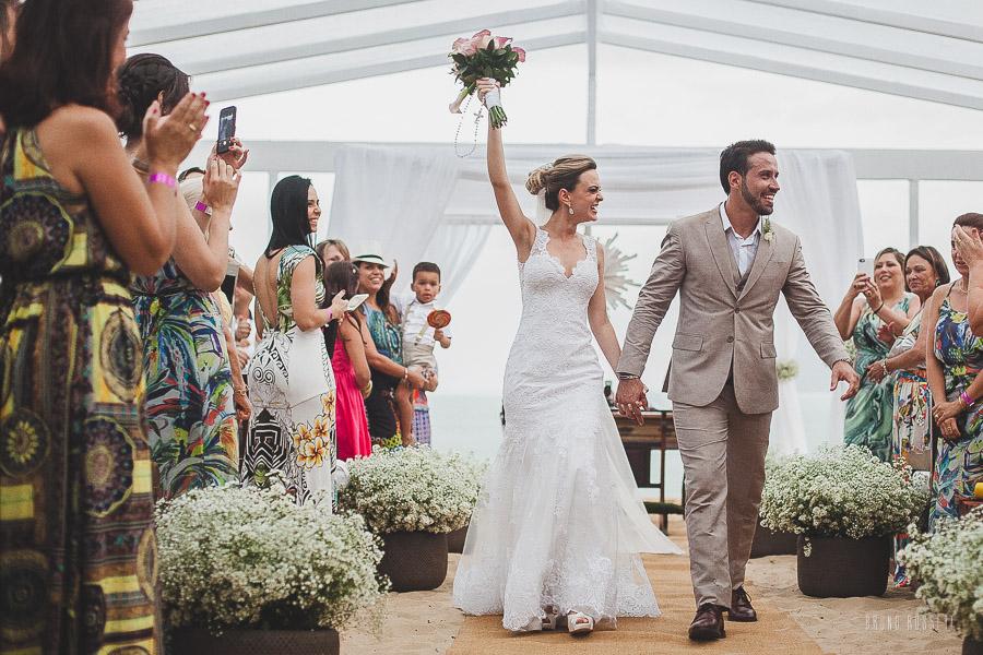 Vestido de noiva para casamento na praia - Hotel