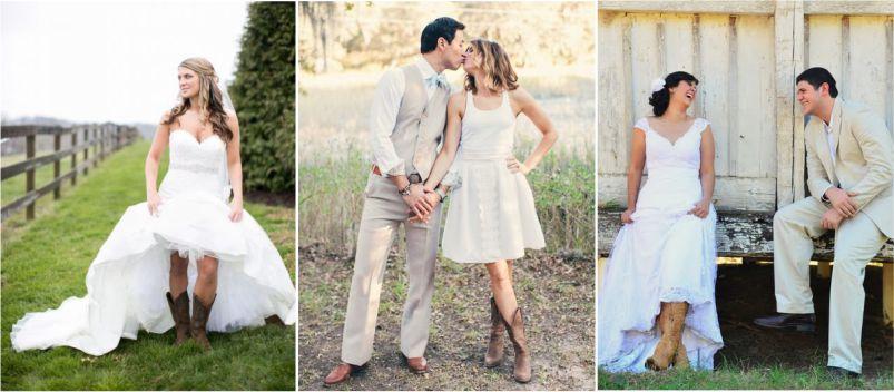 Sapato de Noiva - Bota