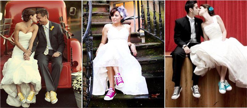 Sapato de Noiva - Tênis