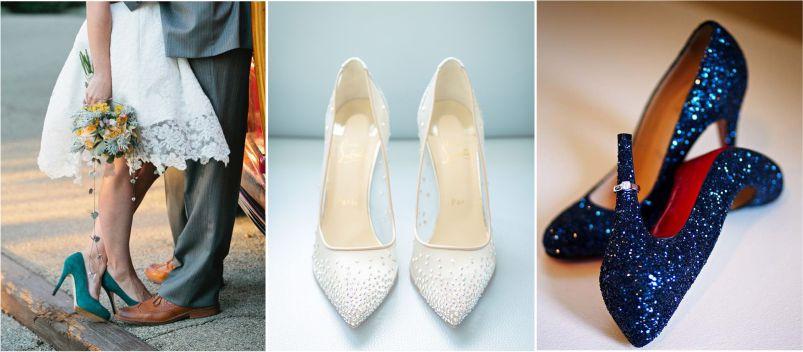 Sapato de Noiva fechado