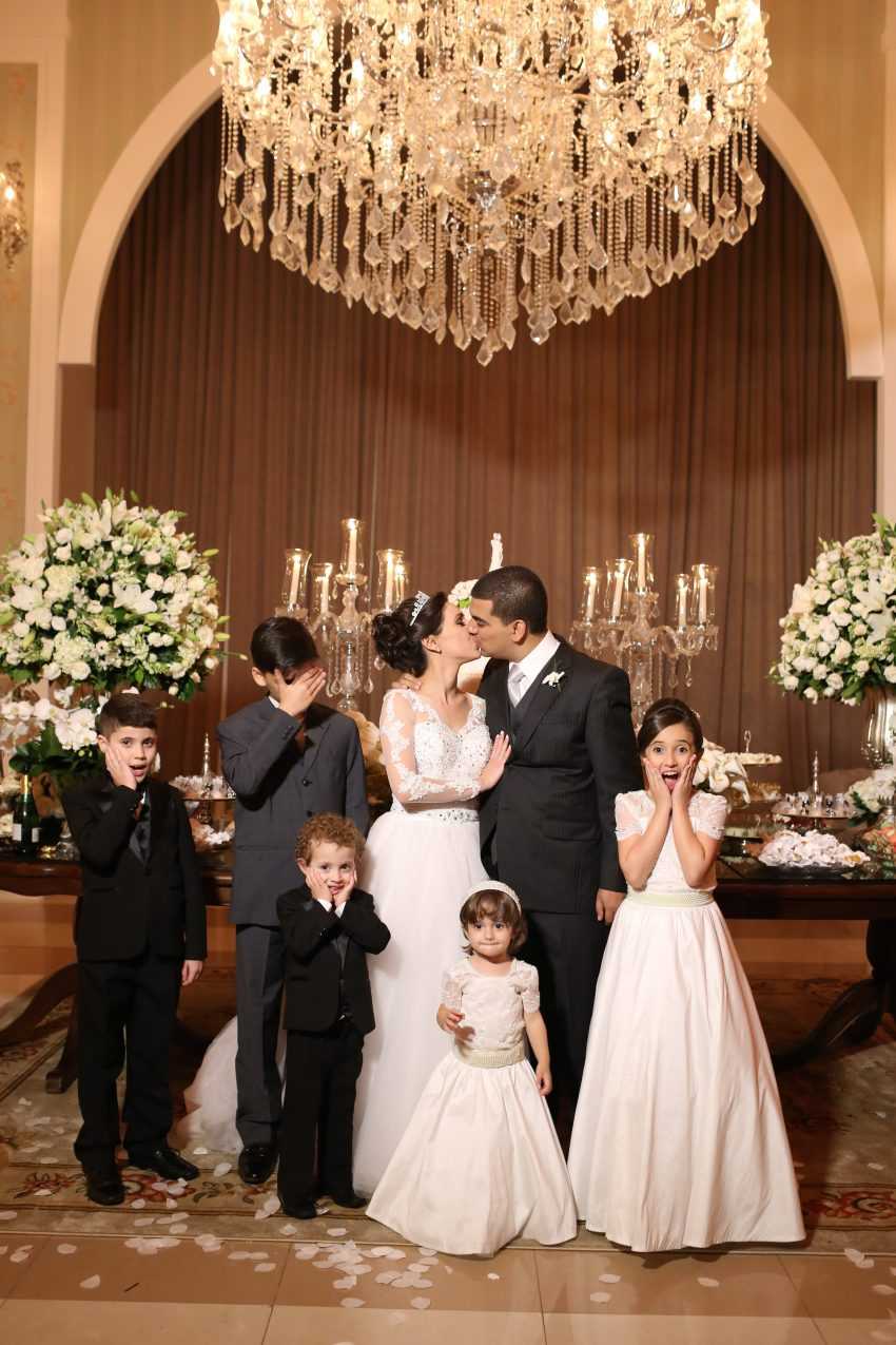 Daminhas e Pajens Casamento Caroline e Thiago