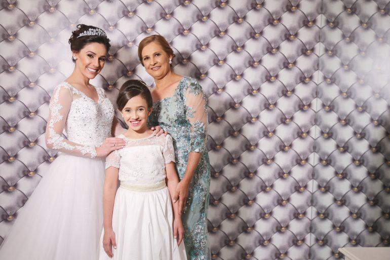 Noiva, Mãe e Daminha