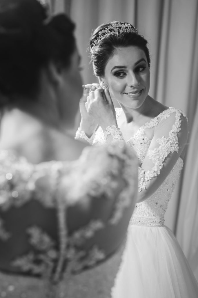 Noiva Caroline - Casamento Clássico