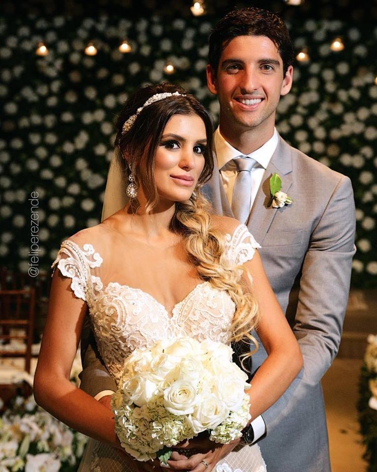 Thomaz Bellucci e Gabriela Cabrini
