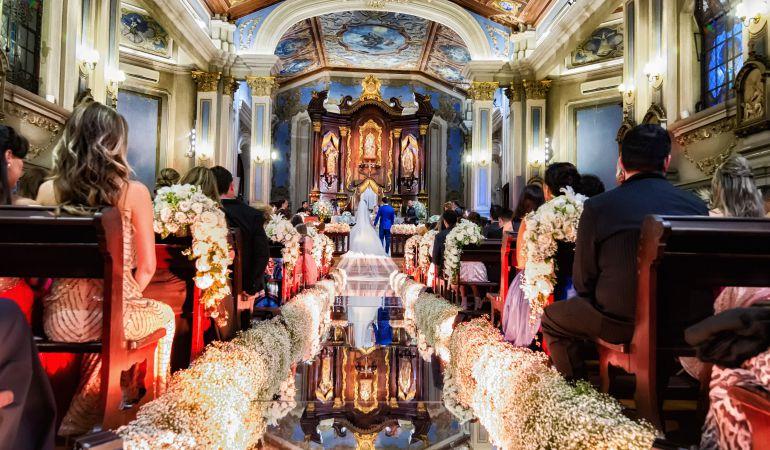 Cerimônia de casamento Kamilla e Eliéser