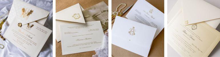 Convites de luxo