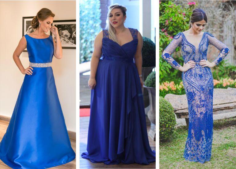 Vestido Madrinha De Casamento Azul Blog De Casamento Para