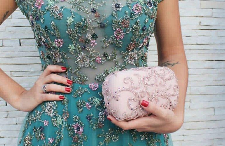 Acessórios combinando com o vestido