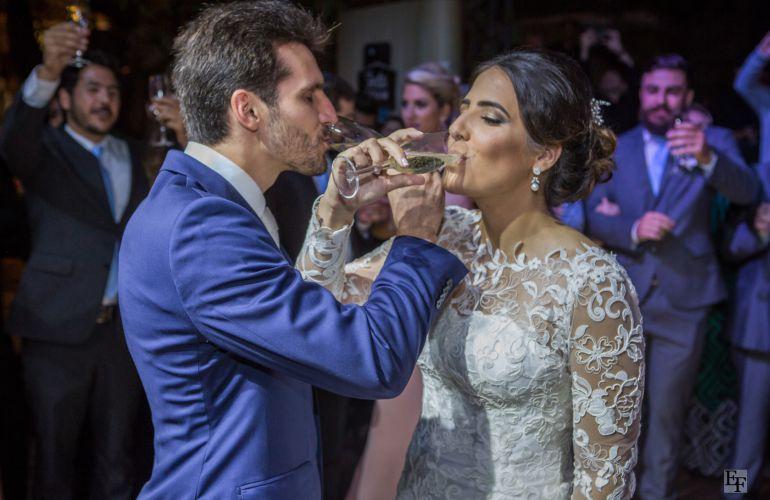 Brinde aos Noivos de Casamento