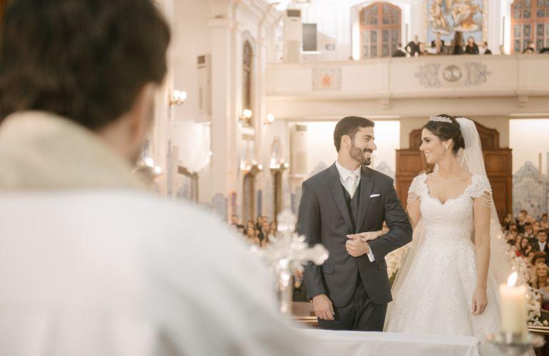 Casamento Clássico Branco