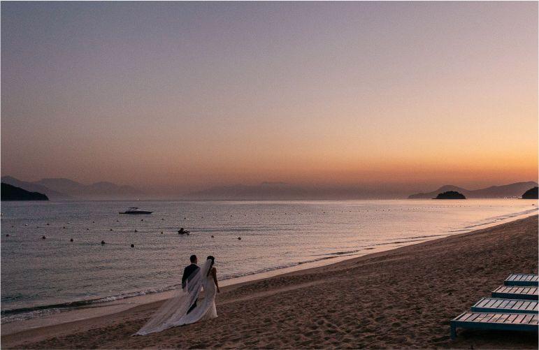 Ensaio noivos praia