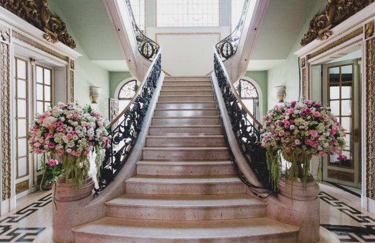Escadaria casamento