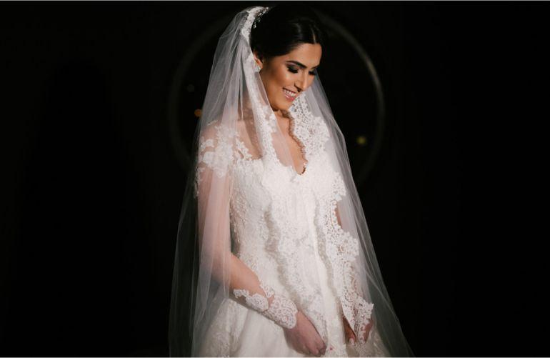 Beleza da noiva Clássica