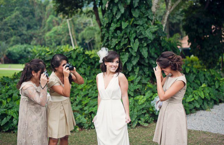 Visual de noiva casamento brunch
