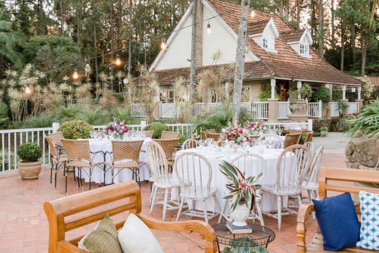 Casamento romântico no hotel Fazenda