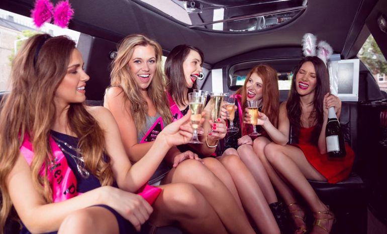 Despedida de solteira na limousine