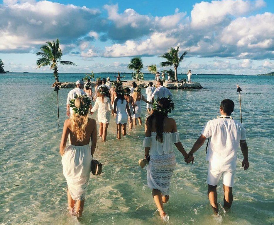 Casamento em ilha particular