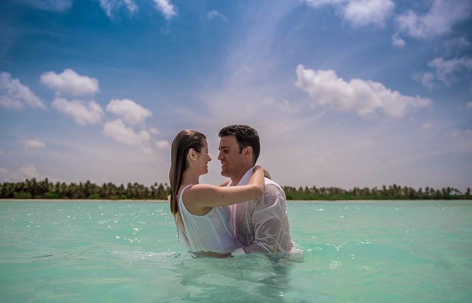 Casamento em ilha