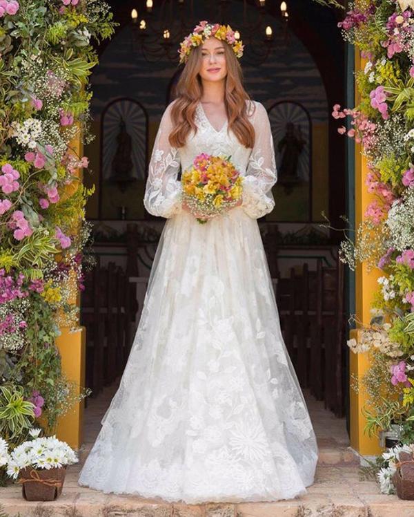 Vestidos de noivas famosas