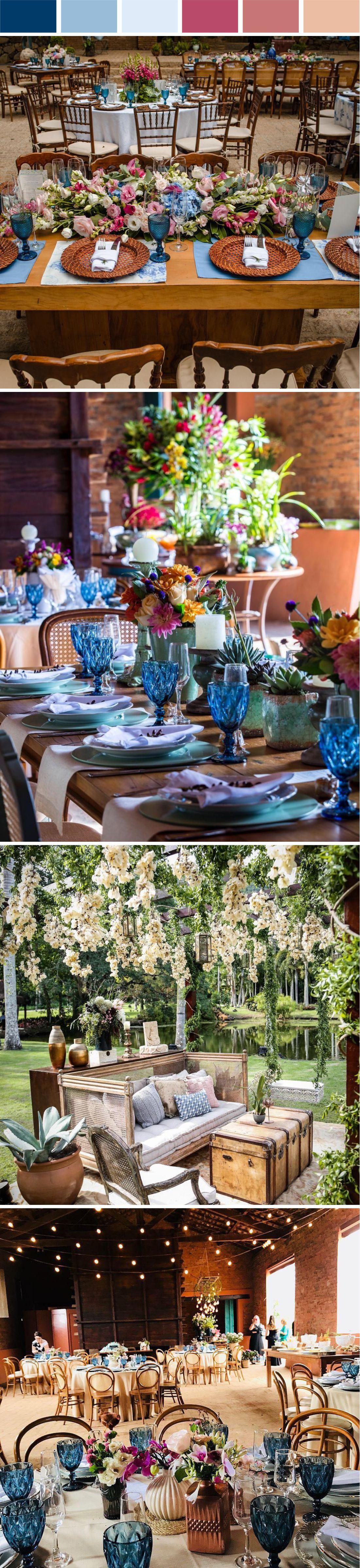 Decoração Mini Wedding Azul