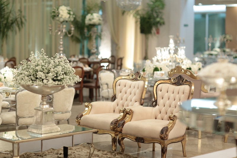 Mobiliario de casamento classico