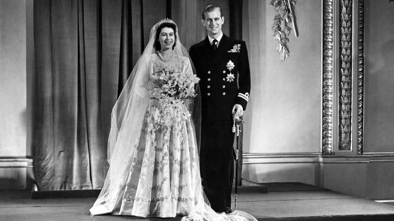 Buquê de murta da rainha Elizabeth II
