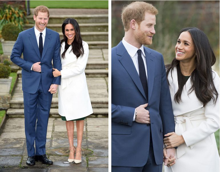 Fotos do noivado Meghan Markle e Harry