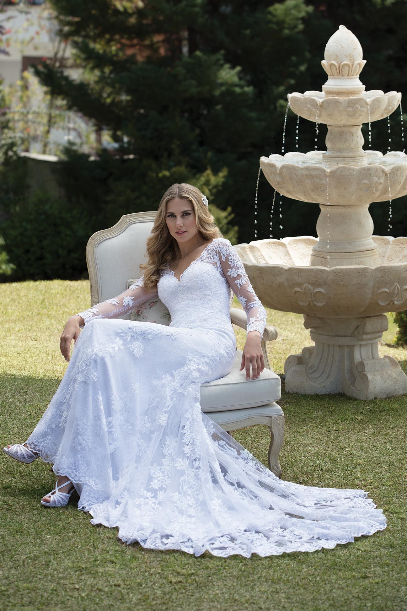 Inspirações para vestidos de noiva - Modelo Anturio