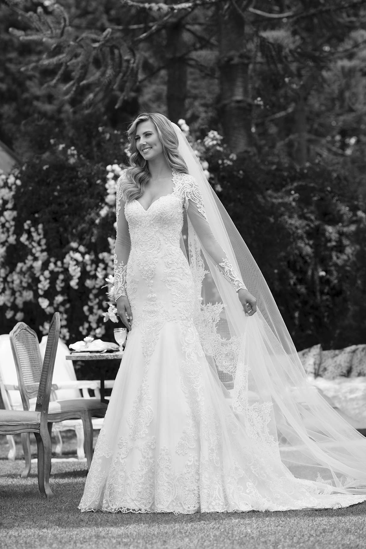 Inspirações para vestidos de noiva - Modelo Azaleia