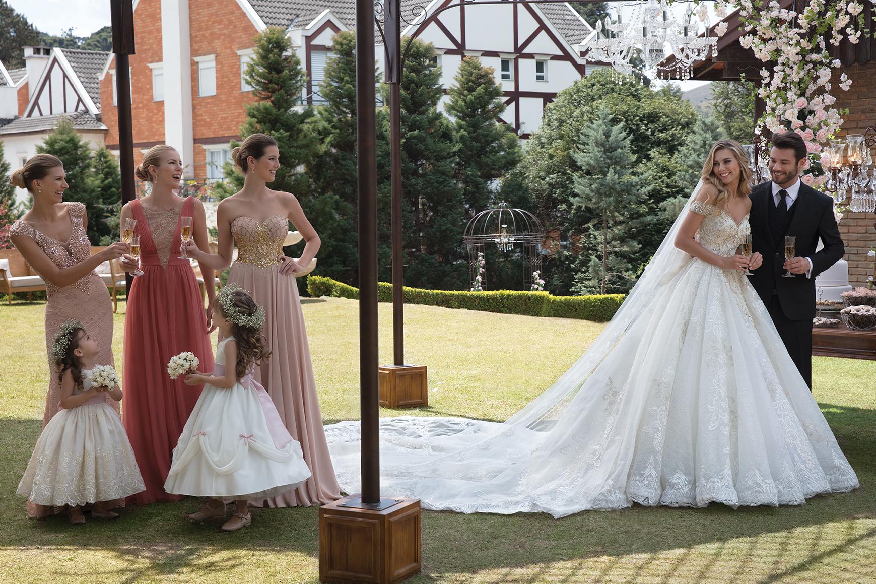 Inspirações para vestidos de noiva - Modelo Conceito