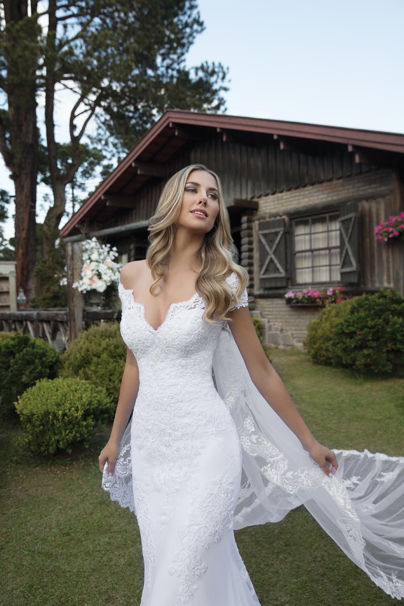 Inspirações para vestidos de noiva - Modelo Dália