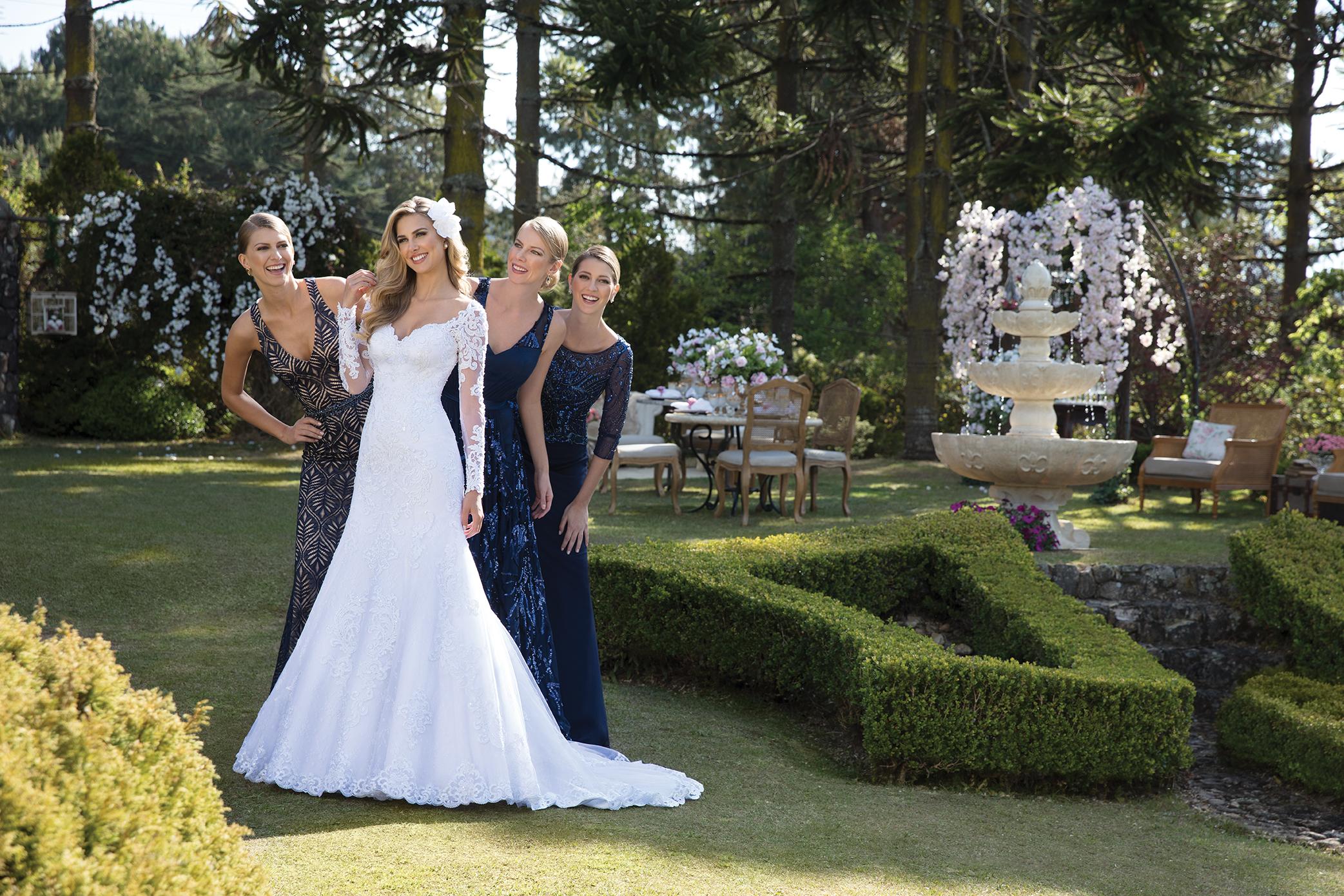 Inspirações para vestidos de noiva - Modelo Hortênsia