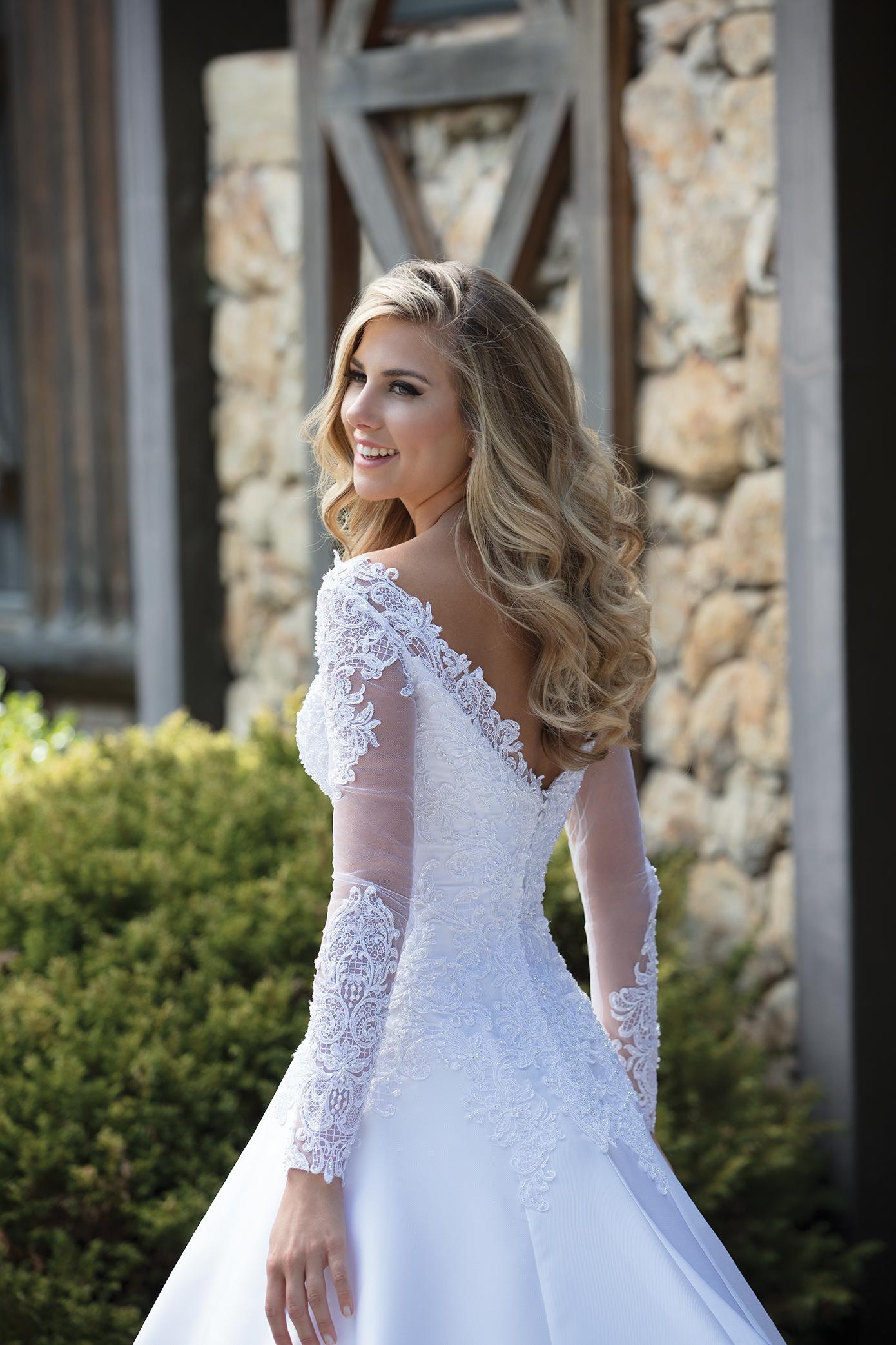 Inspirações para vestidos de noiva - Modelo Margarida