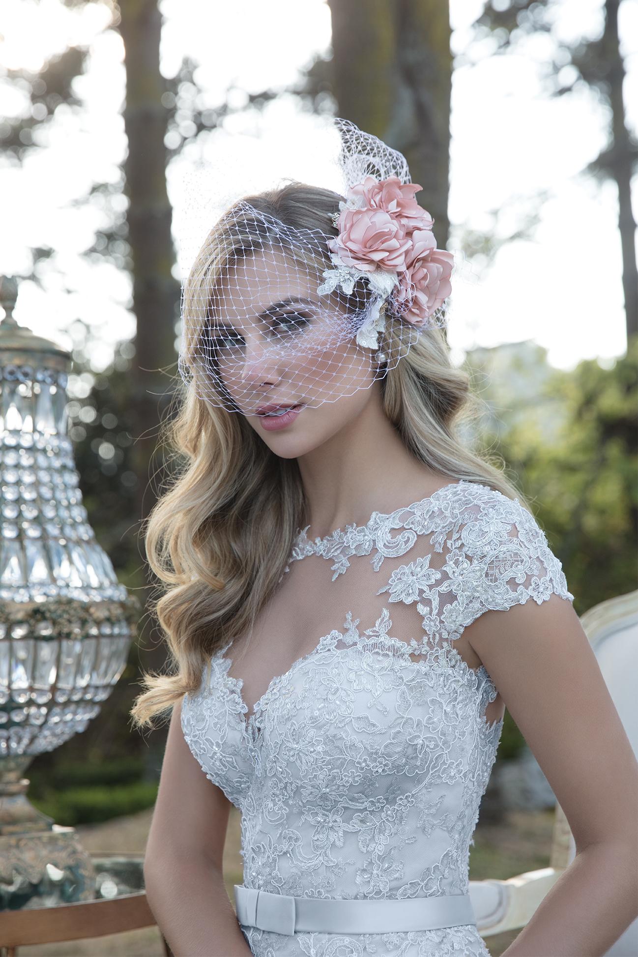 Inspirações para vestidos de noiva - Modelo Rosa