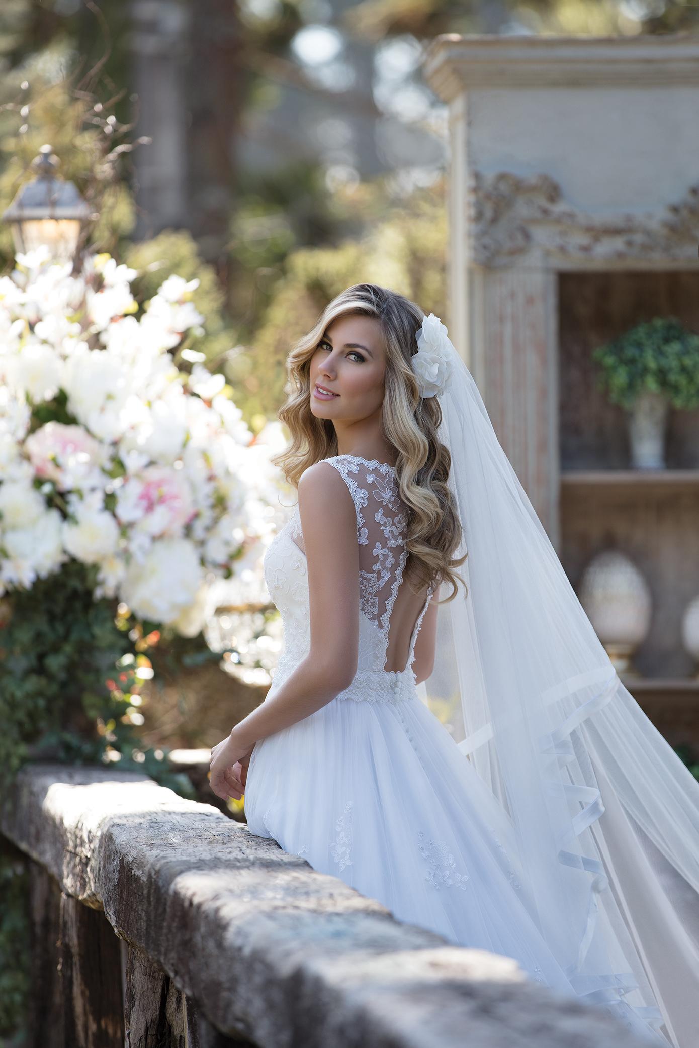 Inspirações para vestidos de noiva - Modelo Tulipa