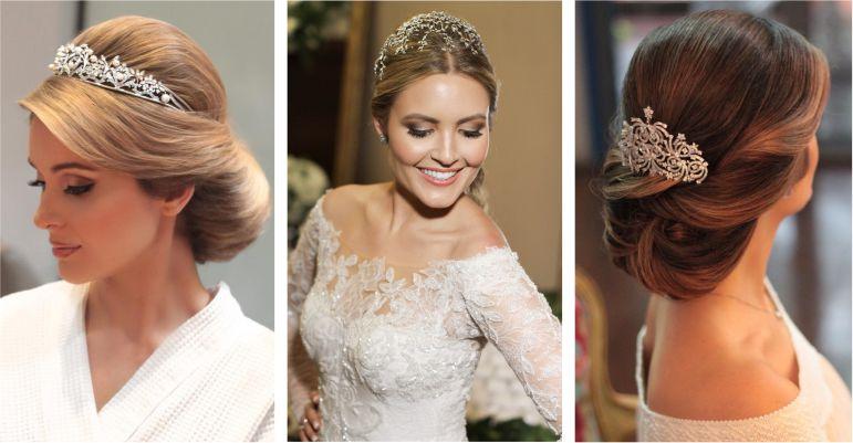Estilos de beleza da noiva: noiva clássica