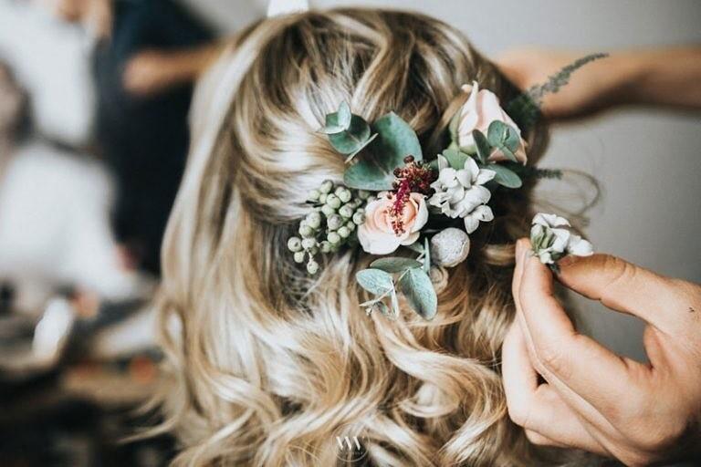 Penteados semi preso para casamento | Foto: Wal Vander