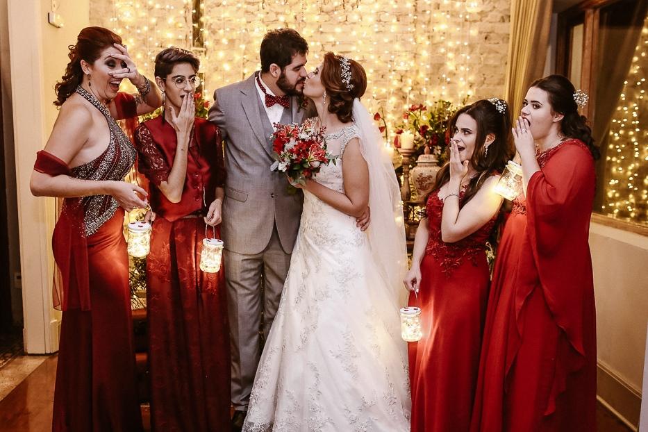 Como combinar as cores do casamento: paleta monocromática