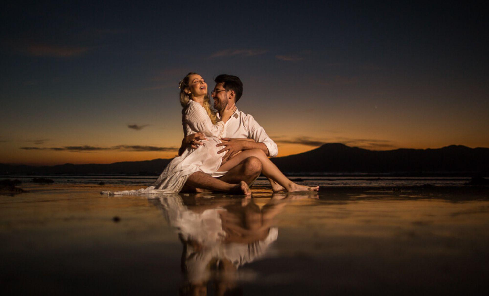 Ensaio na praia   Foto: Milena Reinert