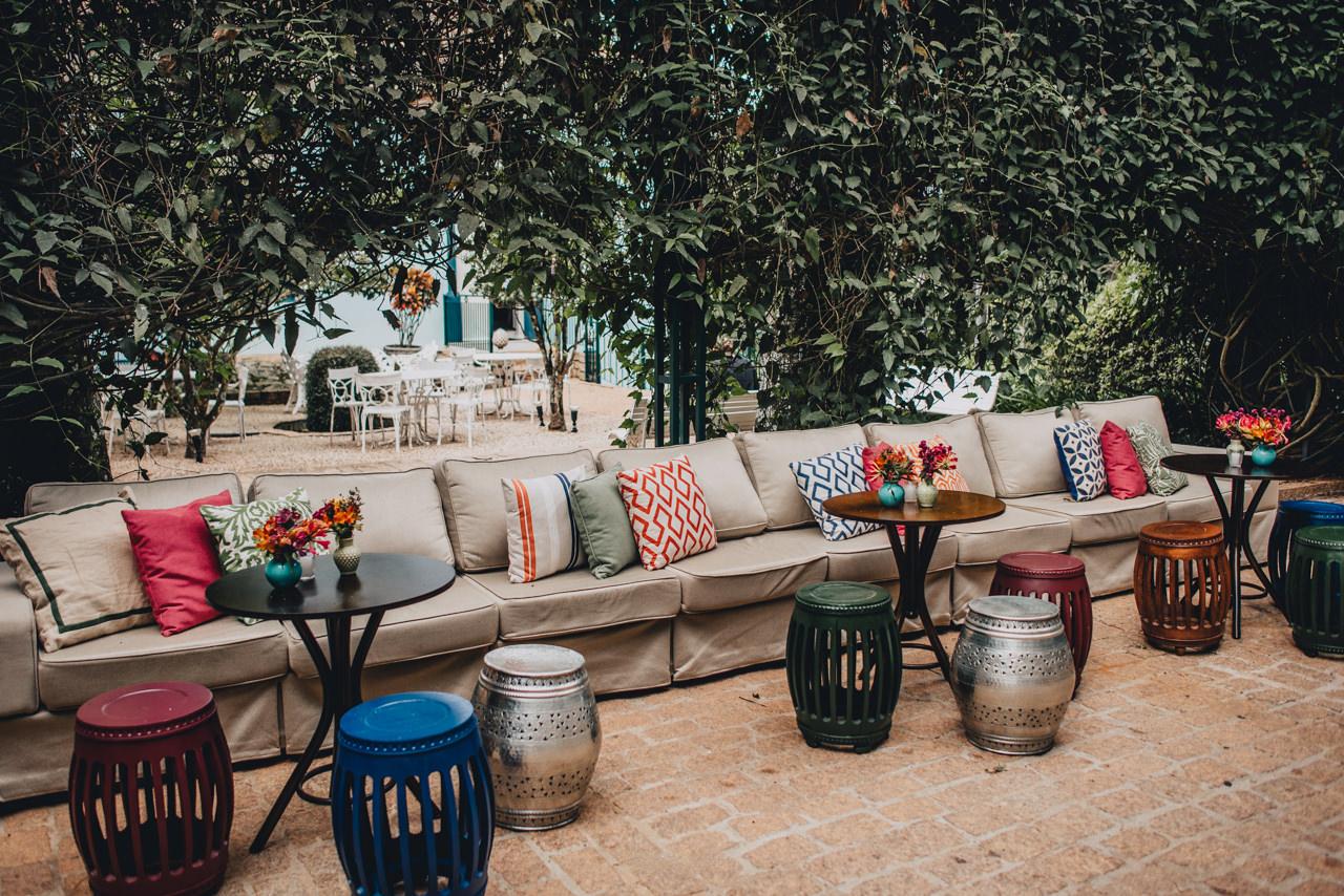 Lounge de casamento