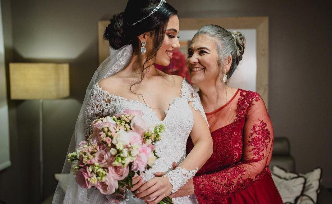 Tendência para mães dos noivos
