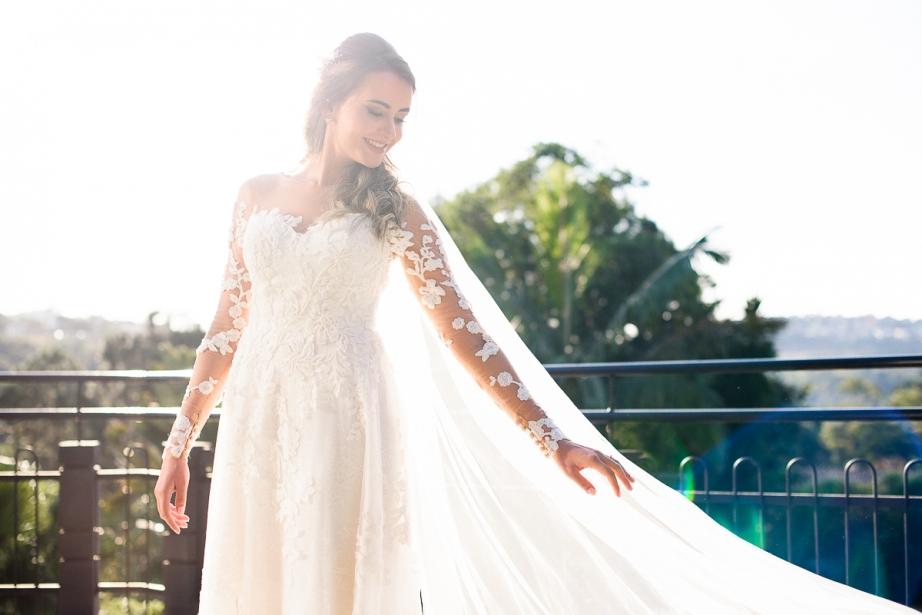 Vestido de noiva para casamento à tarde