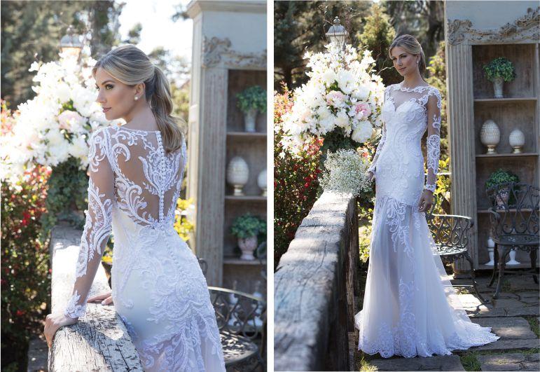 Vestido de noiva com tule | Nova Noiva