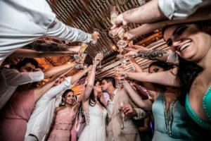 Casamento sem álcool